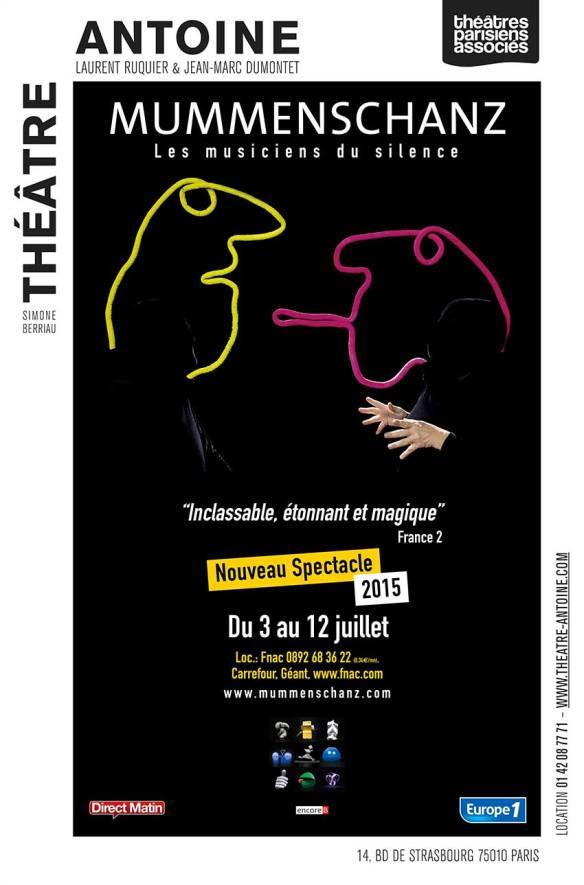 mummenschanz, theatre antoine