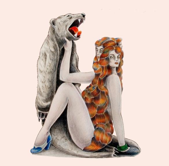 MELIE FRAISSE - PREMIER EP - COVER