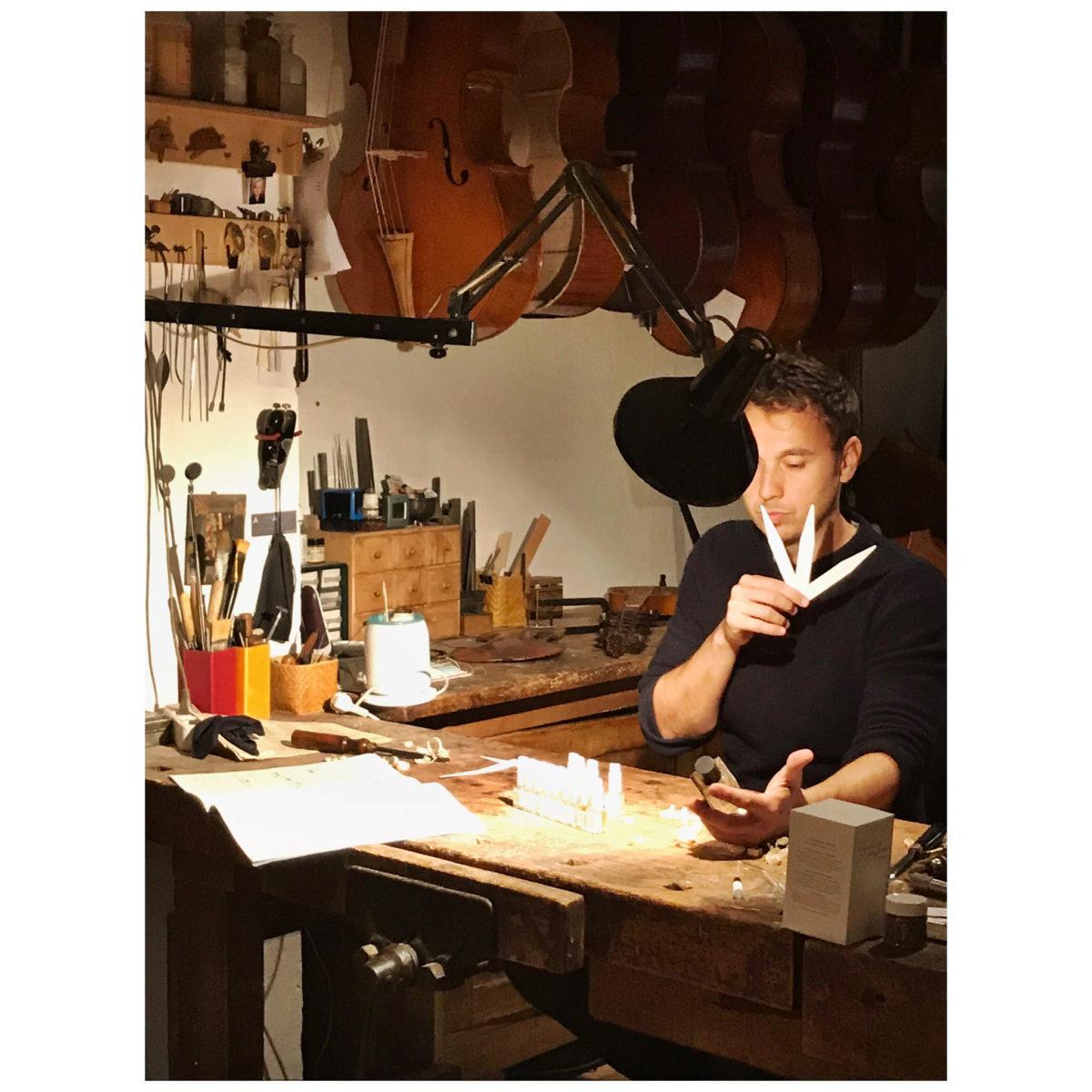 Pierre Guguen, le fondateur de L'Orchestre Parfum