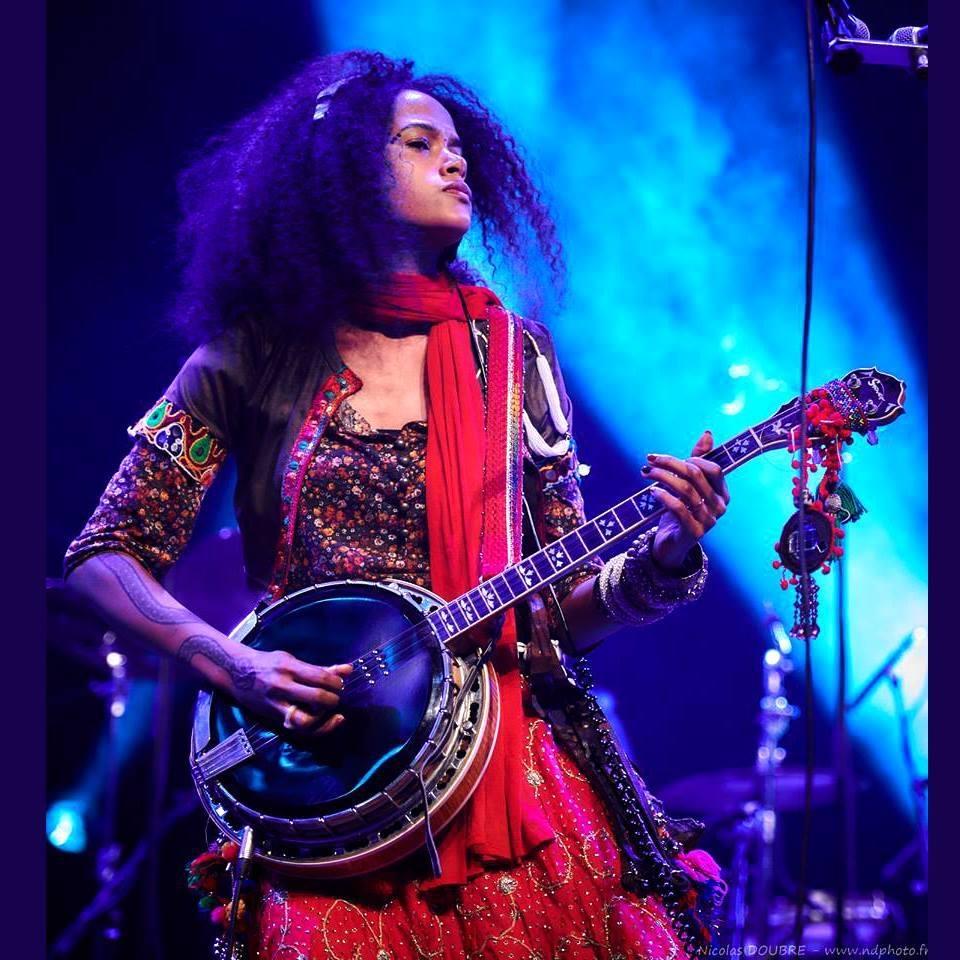 Morgane ji, une chanteuse qui n'a pas la langue dans la poche à écouter avec Woman Soldier